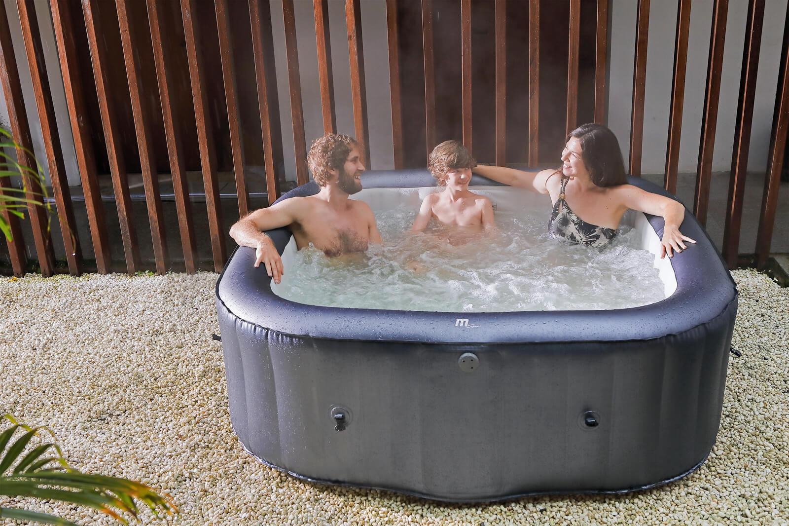 MSpa Muse Whirlpool Otium aufblasbar für 6 Personen - M-OT061 Indoor + Outdoor-Whirlpool