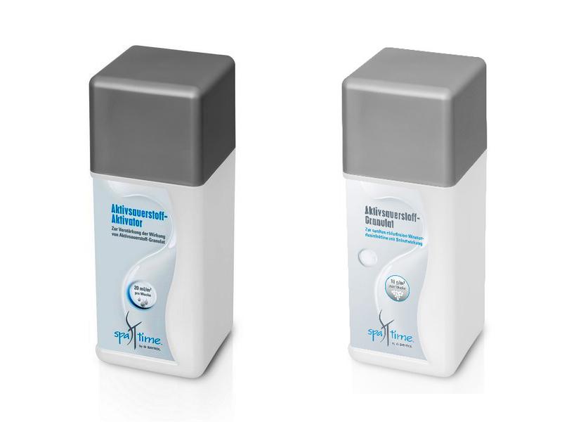 Spa Time Bayrol  Whirlpool Aktivsauerstoff und Aktivator Set