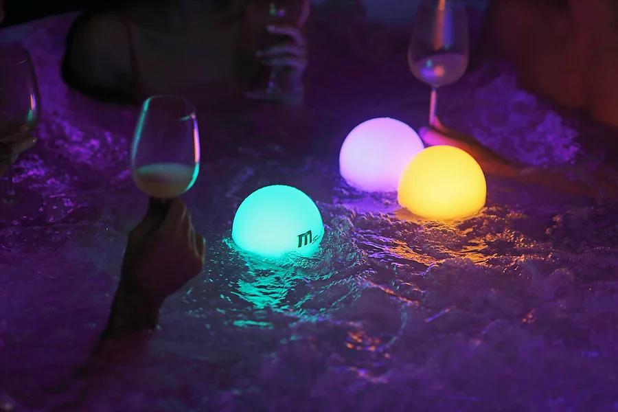 Floating-Lampen