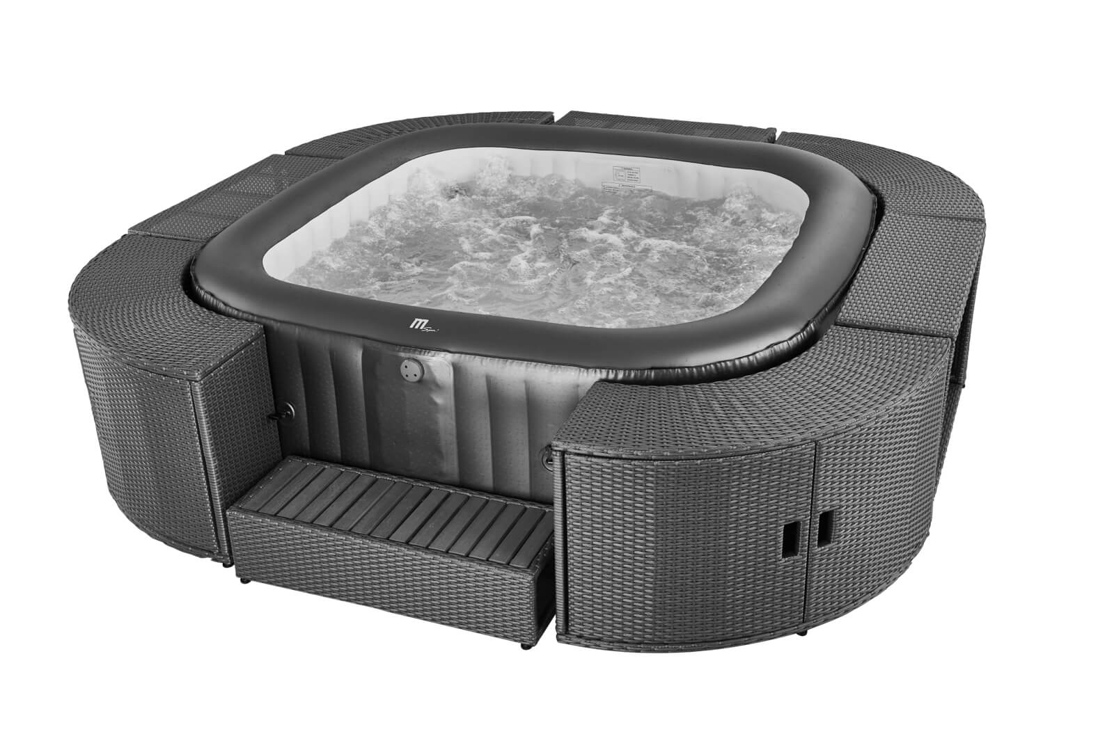 MSpa Muse 6 Personen Whirlpool Otium M-CA061 Indoor + Outdoor Pool